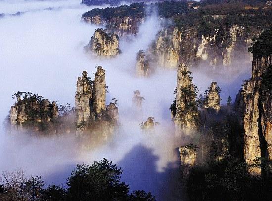 China S Floating Mountains E Morfes