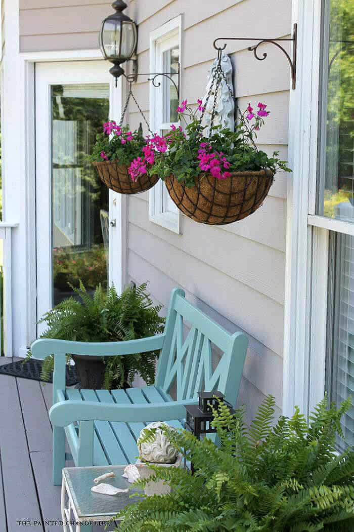 73 Hanging Planter Ideas to Try in All Seasons - MORFLORA on Hanging Plants Ideas  id=37235