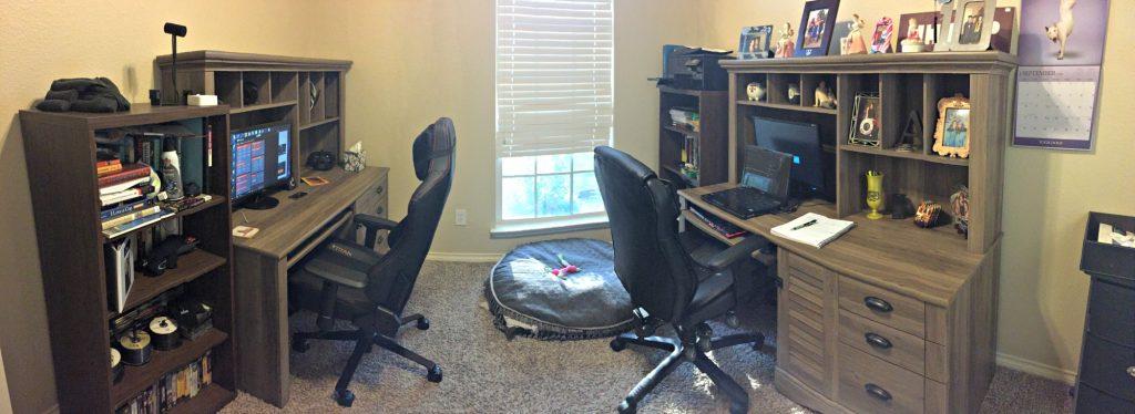 Home Office Makeover - Authentically Amanda - www.mandamorgan.com