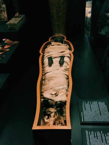 Yep, that's a real mummy