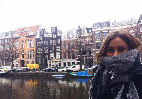 Pretending that I'm not freezing | Amsterdam