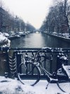 First snow of the season | Amsterdam