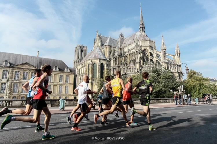 Run in Reims (marathon, semi-marathon, 10KM), le dimanche 11 octobre 2015. Crédit photo : Morgan Bove / ASO. #RUNINREIMS #ASOCHALLENGES #RUNNING