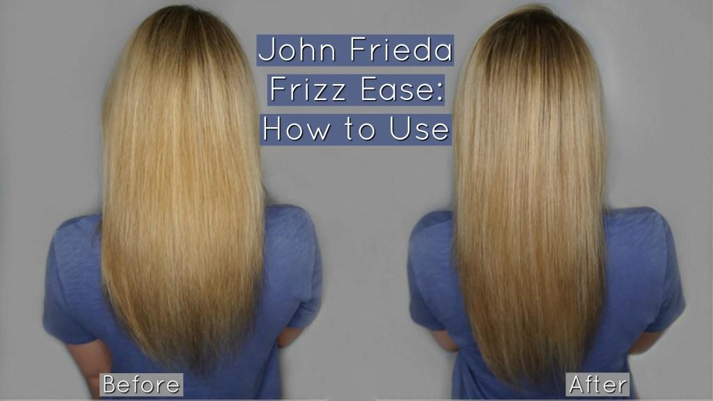 John Frieda Frizz Ease: Demo Video + Review