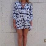 Grid Tunic Shirt Dress: Your New summer Staple