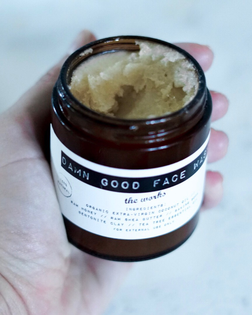 damn good face wash - all natural skin care products