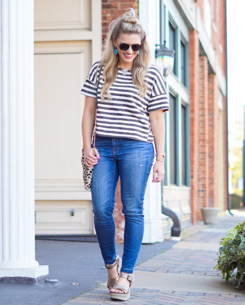 Spring Stripes + The Best Wedges EVER!