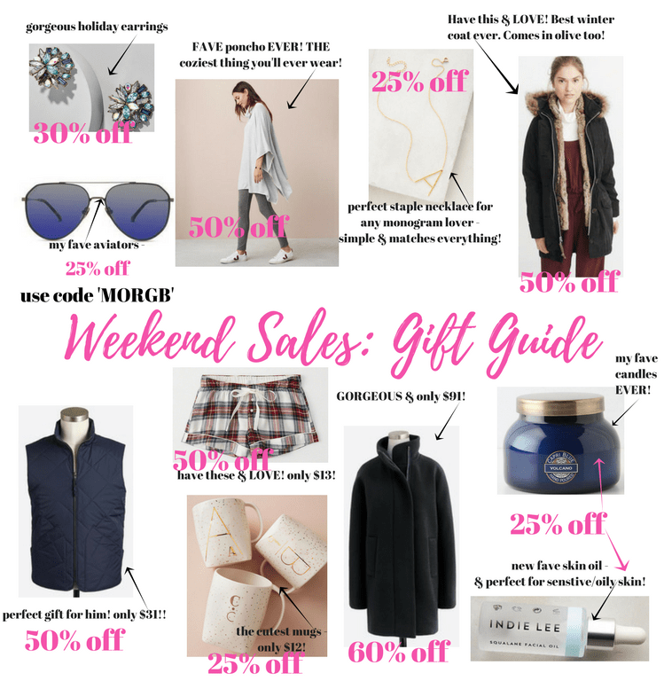 The Best Weekend Sales: ft. My Fave Holiday Gift Ideas!