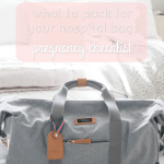 Hospital Bag Checklist: What to Pack