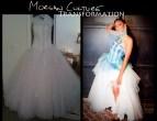 Morgan Culture Gown transformation 1