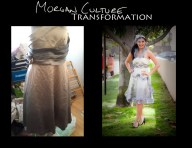 Morgan Culture Gown transformation 6