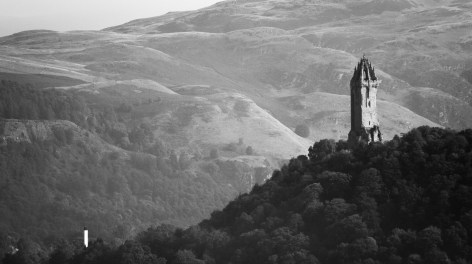 Monument Wallace et sa petite cheminée...
