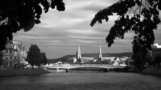 Inverness et la rivère Ness