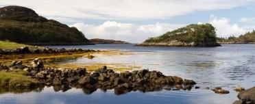 Un îlot du Loch An Eisg Brachaidh