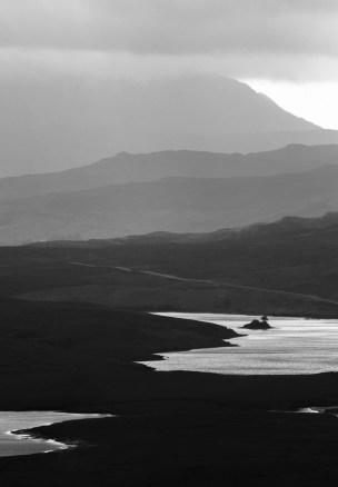 Le Loch Fada et son îlot