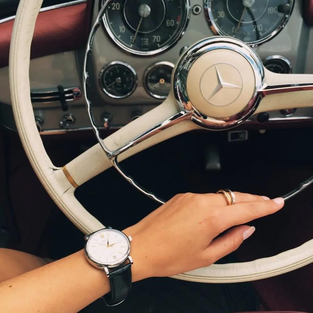 Une journée très 60's avec IWC et Mercedes Benz 4