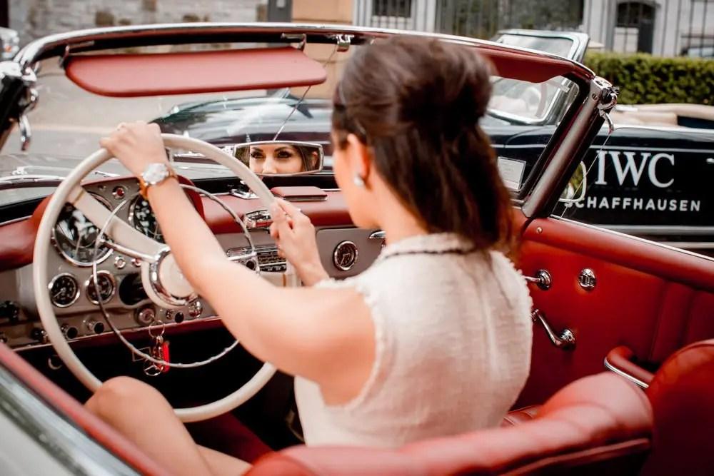Une journée très 60's avec IWC et Mercedes Benz 9
