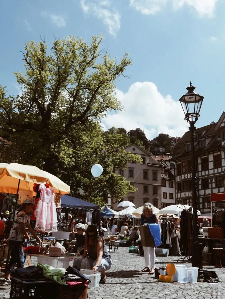 St Gall - Flea Market