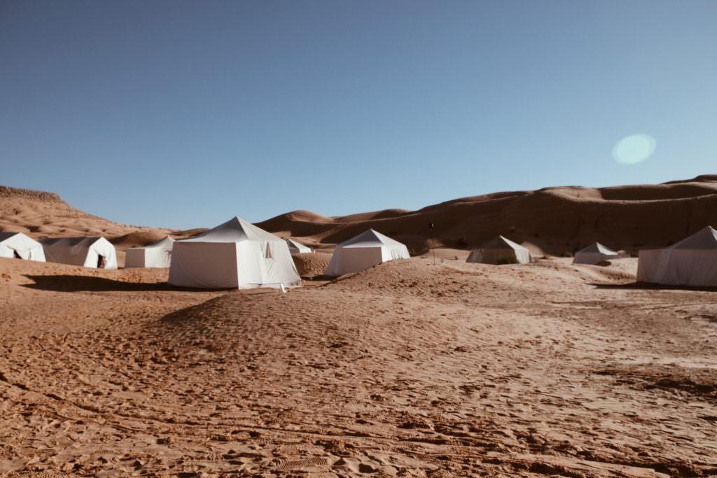 Tembaïn désert sahara camp mars tunisie