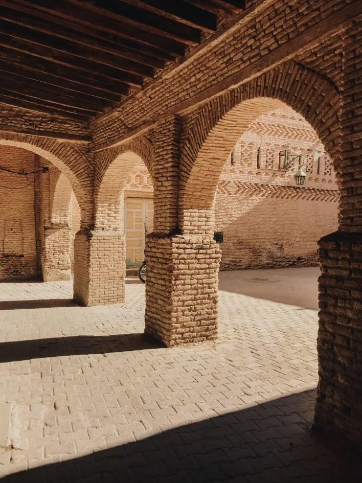 Tozeur médina à voir tunisie
