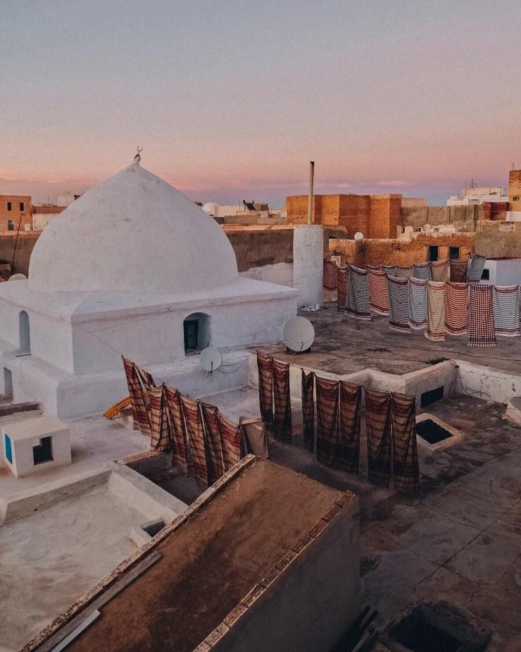 Kairouan mosquée coucher du soleil médina