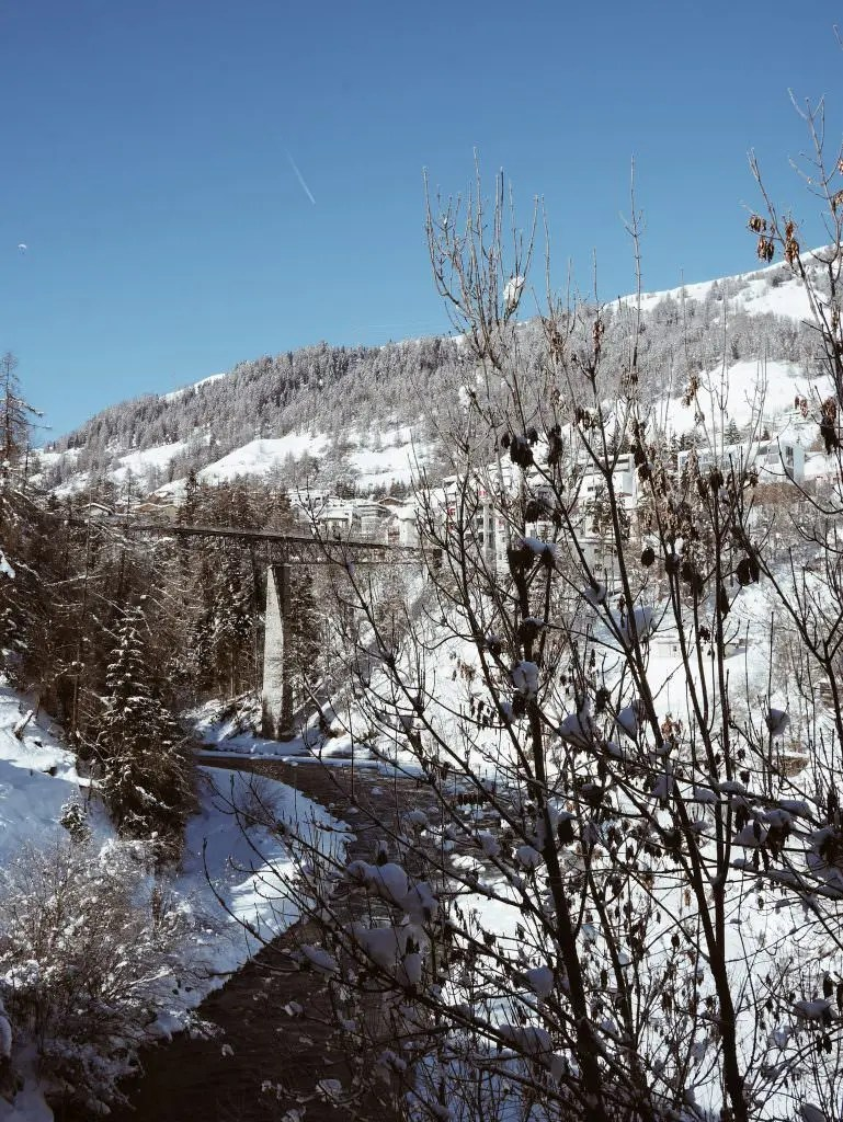 Sucol Engadine Switzerland bridge
