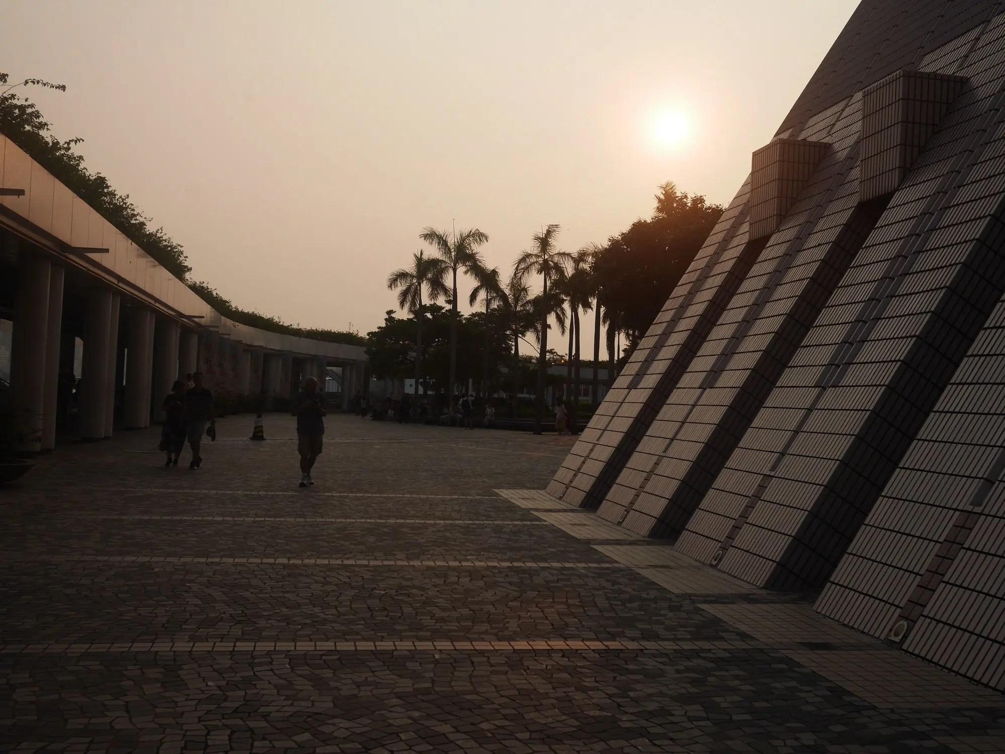 kowloon sunset