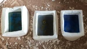 Opening the kiln...