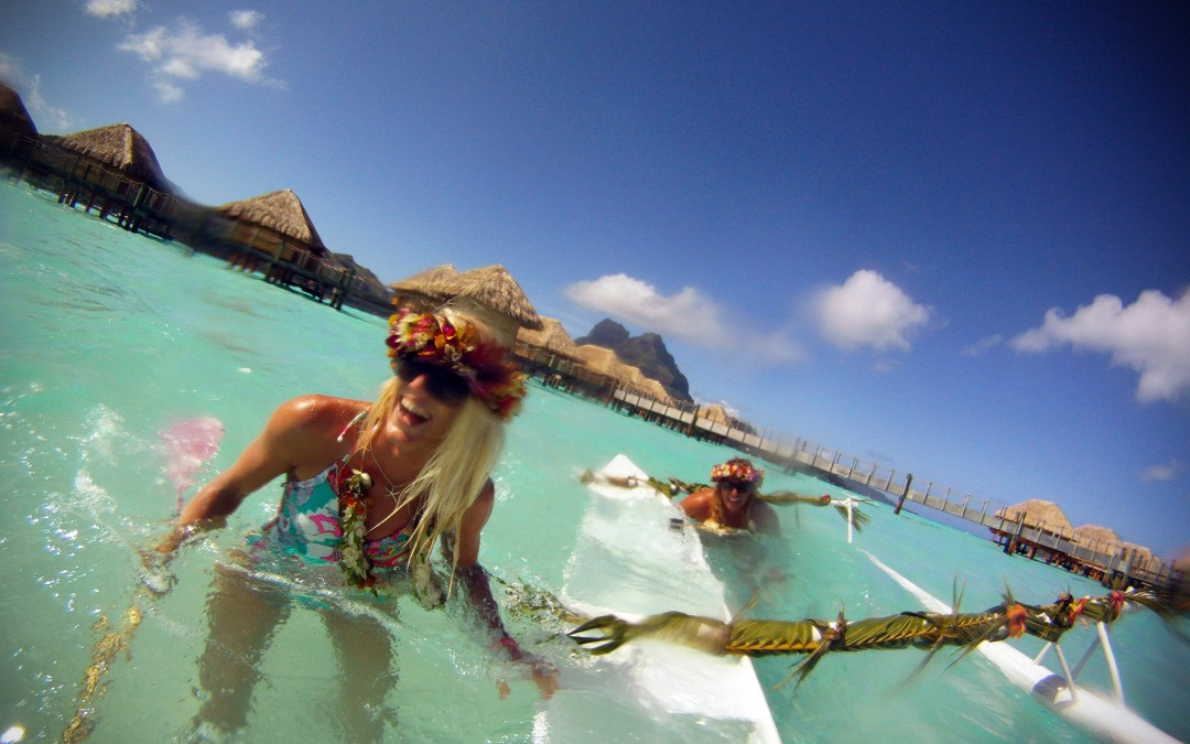 Tahitian Fun with Gillian