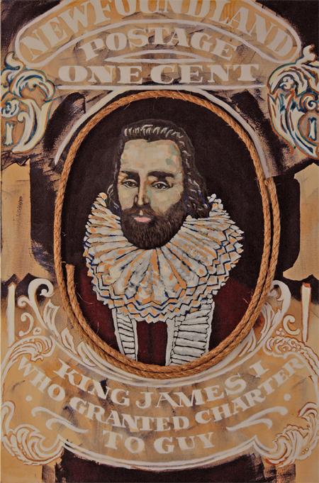 King James I sm