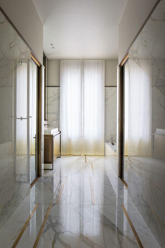 Brass Floor Inlay My Website