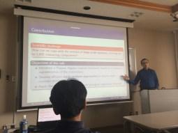 Invited talk at Yamanashi University