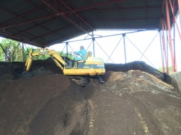 Preparation of the compost