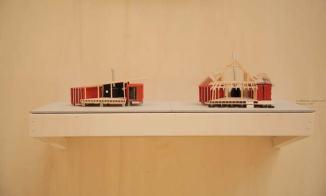 Le Manable_maquettes_Exposition Matière Grise. Photos par_Mélody Garcia