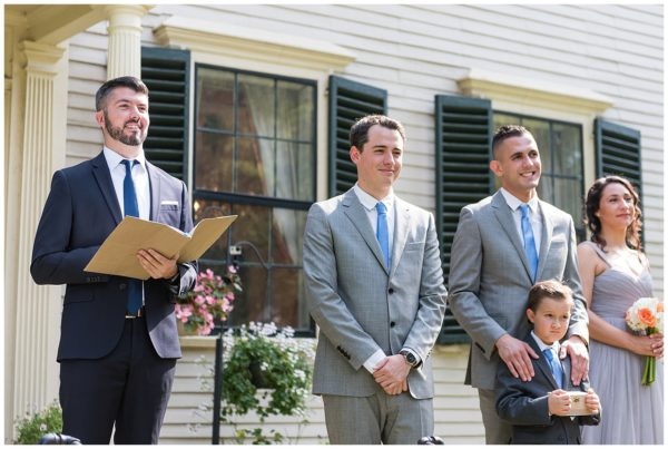 Loring Greenough House Wedding