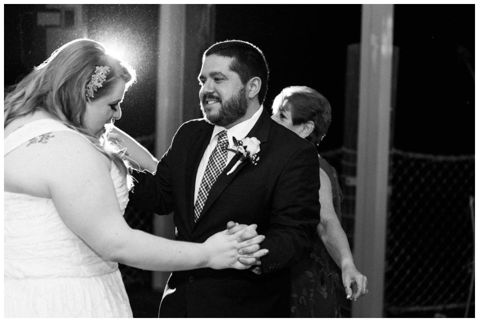 first dance at palm beach zoo wedding reception