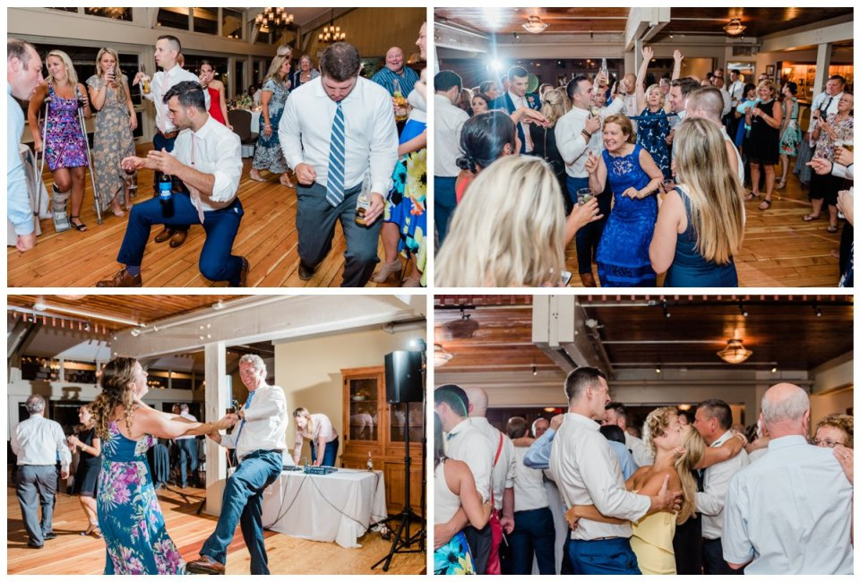 Warren Conference Center Wedding dance