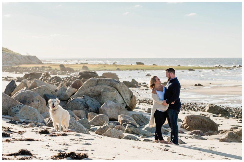 Boston engagement session locations- Dennis Beach