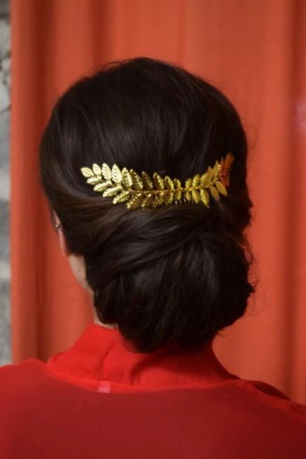 Ithaca Wedding Hair Salon, Ithaca New York Wedding Hair simple elegant updo low bun updo Fingerlakes wedding