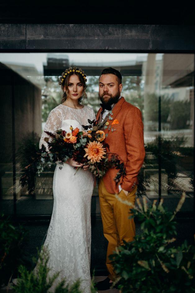 Everson Museum Wedding Photoshoot