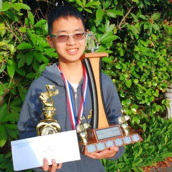 Eric Zhang, B.C. Provincials Winner, Junior A, 2018