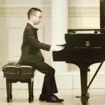 Eric Zhang, B.C. Gold Medal Winner, Level 9