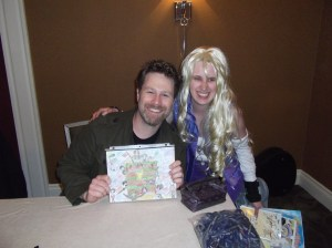 Me with Eric Vale!