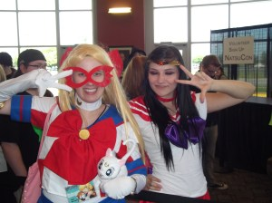 Sailor Mars and I, ready to save the world.