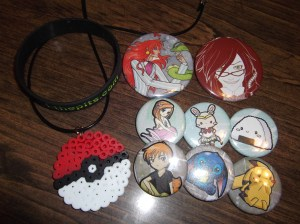 All my buttons.  Not too bad this time, huh?