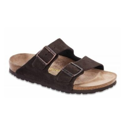 Arizona Mocha Suede Leather Regular Width