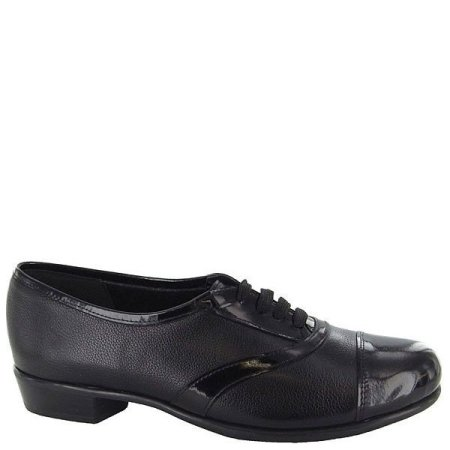 Ascot Black Leather