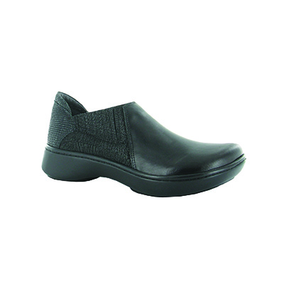 Bay Black Leather