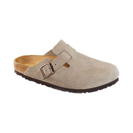 Boston Taupe Suede - Narrow