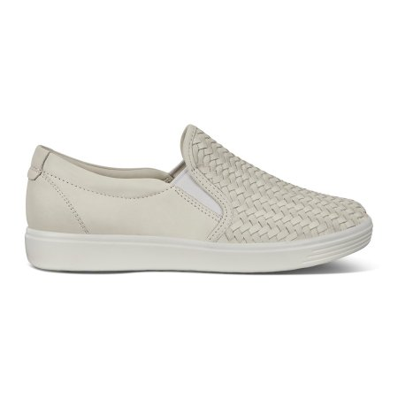 Soft 7 Woven Slip-On Gray/White